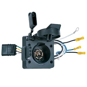 Picture of Husky Towing 13165 Trailer Wiring Connector Adapter