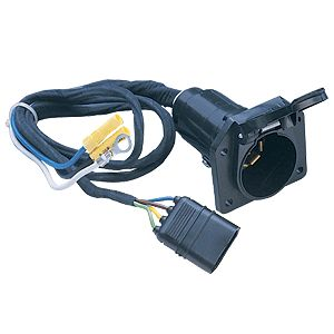 Picture of Husky Towing 13166 Trailer Wiring Connector Adapter