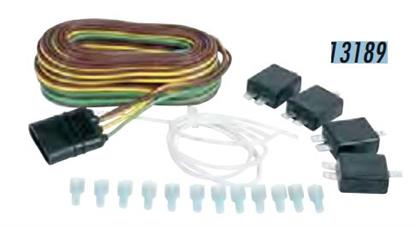 Picture of Husky Towing 13189 Towed Vehicle Wiring Kit