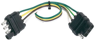 Picture of Husky Towing 30312 Trailer Wiring Connector Extension