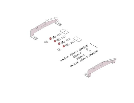 Picture of Husky Towing 31407 Fifth Wheel Trailer Hitch Mount Kit