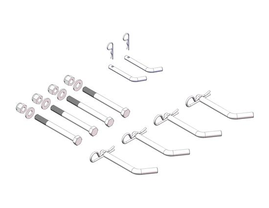 Picture of Husky Towing 31455 Fifth Wheel Trailer Hitch Hardware