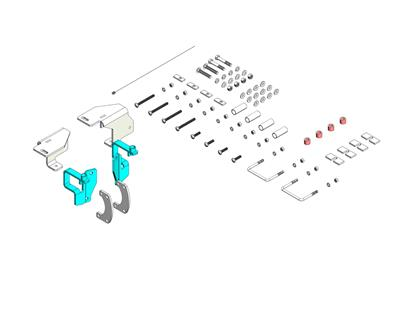 Picture of Husky Towing 31566 Fifth Wheel Trailer Hitch Mount Kit