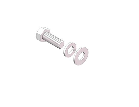 Picture of Husky Towing 31752 Fifth Wheel Trailer Hitch Hardware