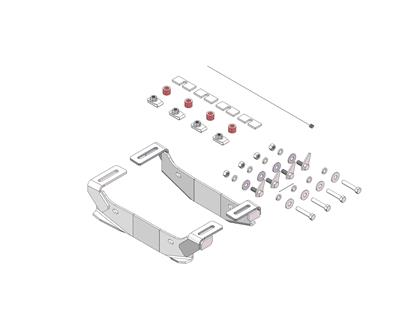 Picture of Husky Towing 31852 Fifth Wheel Trailer Hitch Mount Kit